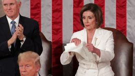 Pelosi Explains Why She Ripped up Trump's Speech