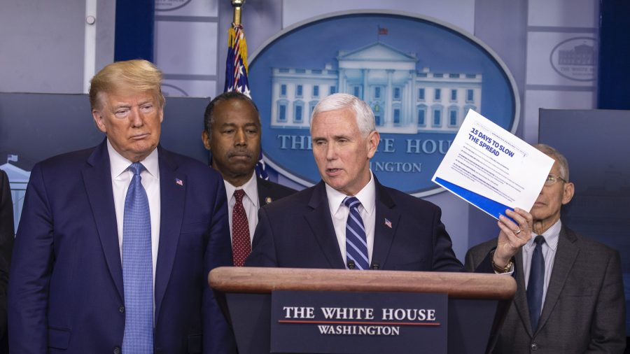 White House Urges Prioritization of COVID-19 Testing Amid Tight Supplies