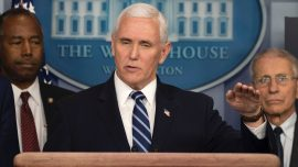 Pence and Wife Will Be Tested for COVID-19 After Staffer Tests Positive