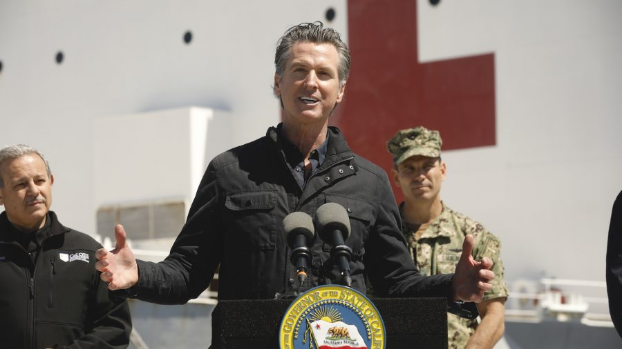 California Governor Gavin Newsom Orders a Halt to Evictions Statewide