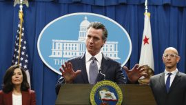 California Governor Issues Statewide 'Stay at Home' Order, Predicts 56 Precent to Be Infected