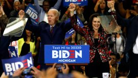 Gretchen Whitmer Appears on Joe Biden's Campaign Podcast