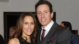 CNN's Chris Cuomo Fights CCP Virus With Support of His Wife