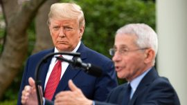 Trump Says He 'Totally' Disagrees With Fauci on When to Reopen Schools