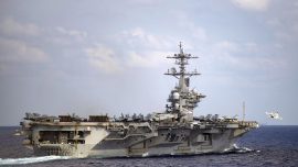 Sailors on Sidelined Carrier Get Virus for Second Time