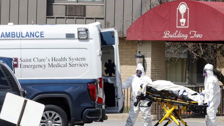 US Issues First CCP Virus Workplace Guidance to Nursing Homes