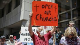 Federal Appeals Court Rejects Lawsuit to Overturn California's Ban On In-Person Church Services