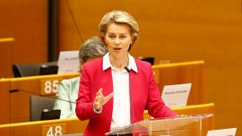 'Europe's Moment:' EU Lays out Costly Rescue for Squabbling Bloc