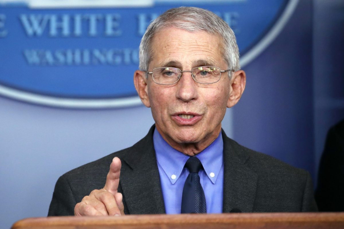 Fauci speaks about CCP virus