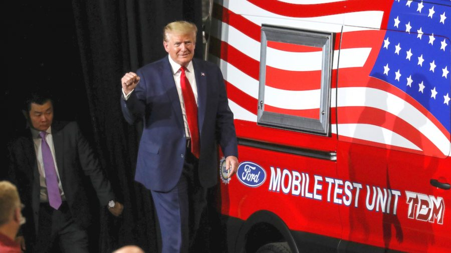 Trump Wants US to Be World's Number One Medical Manufacturer