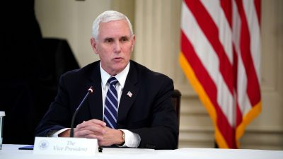 Pence Says White House Will Not Tolerate Social Media Censorship of Conservatives