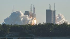 Chinese Rocket 'Size of a Large Van' Falls Uncontrollably Back to Earth
