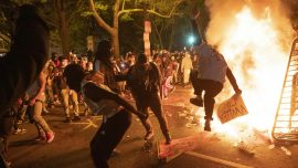 Widespread Fires in Washington After Protests Devolve into Chaos