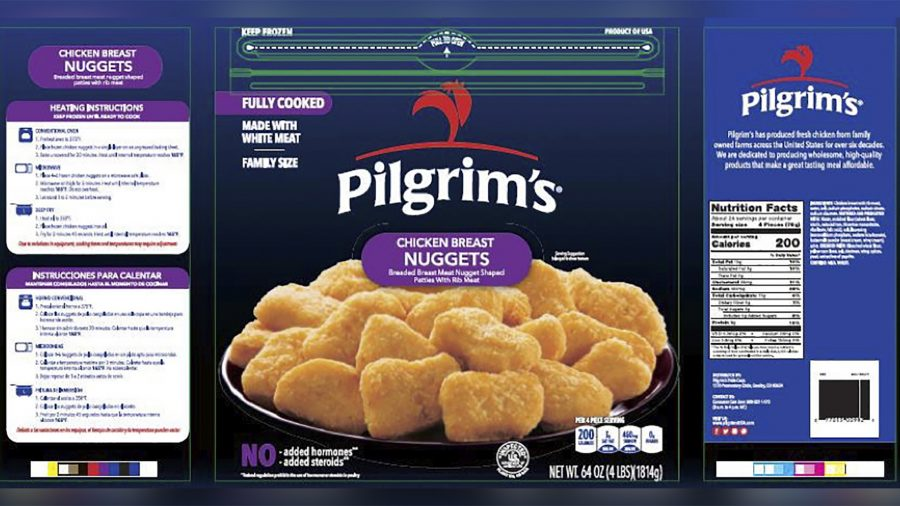 Nearly 60,000 Pounds of Chicken Nuggets Being Recalled