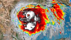 Hanna Weakens to Tropical Storm, Drenches South Texas