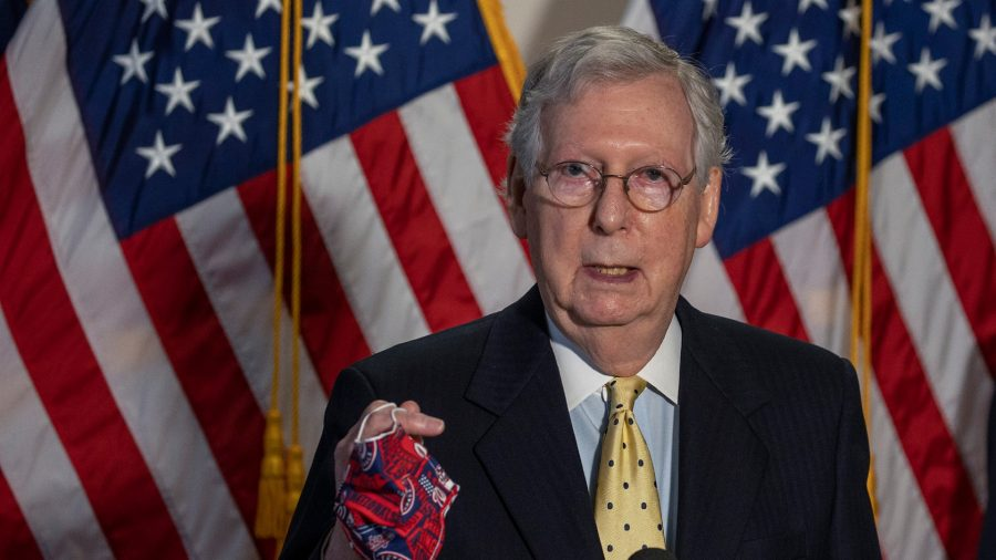 McConnell: 15-20 GOP Senators Will Not Vote for Any Virus Relief Deal