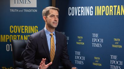 Sen. Tom Cotton: Communist China Waging 'Undeclared War' on US and the West