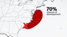 Fay Could Develop This Week Into Sixth-Named Storm of Hurricane Season With Impacts Along the East Coast