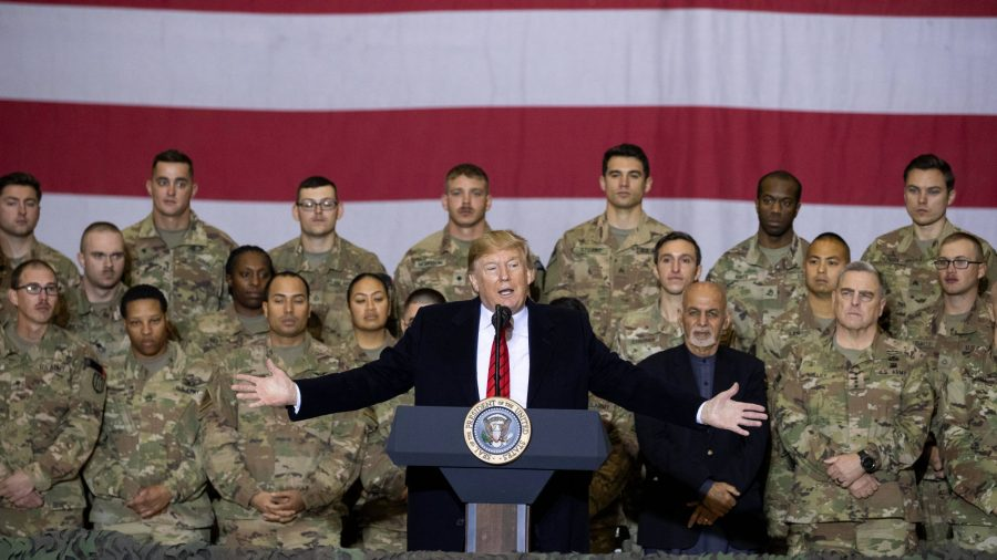 235 Former Military Leaders Support Trump, Say Democrats Will Leave US 'More Vulnerable'
