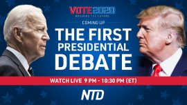 LIVE: First 2020 Presidential Debate Between Trump and Biden