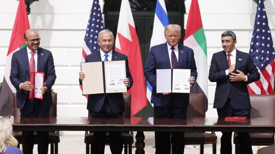 Trump Declares 'Historic Day for Peace' as Middle East Deals Are Signed