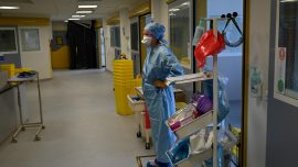 Nurses Call out Health Authorities in France