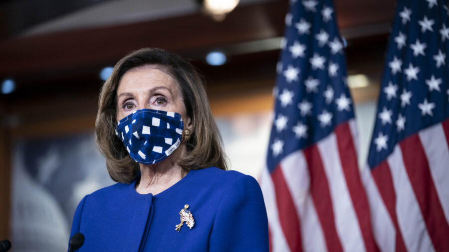 Pelosi 'Hopeful' on Stimulus as Negotiations Continue Into Weekend