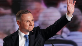 Poland's President Has Coronavirus, Apologizes to Contacts
