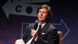 Fox News CEO Responds to Calls for Tucker Carlson to Be Fired