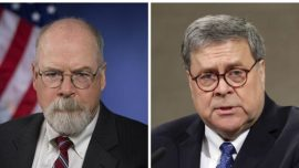 Barr Reveals He Appointed Durham as Special Counsel