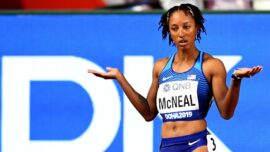 Olympic Hurdles Champion McNeal Denies Testing Positive for Banned Substance