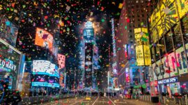 LIVE: 2021 New Year Celebration at New York's Times Square