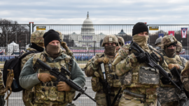 Heavy Military Presence as Capitol Prepares for Inauguration Like No Other