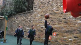 Students Go Back to School in England