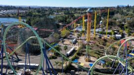 California Six Flags Rides to Reopen on April 1