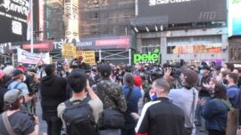 Protests Held in NYC After Chauvin Verdict