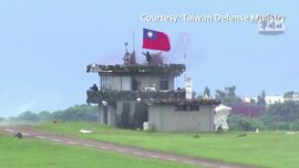 8 Times More Soldiers in Taiwan's Military Drills