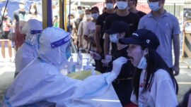 Virus Cases Surge in South China's Guangzhou