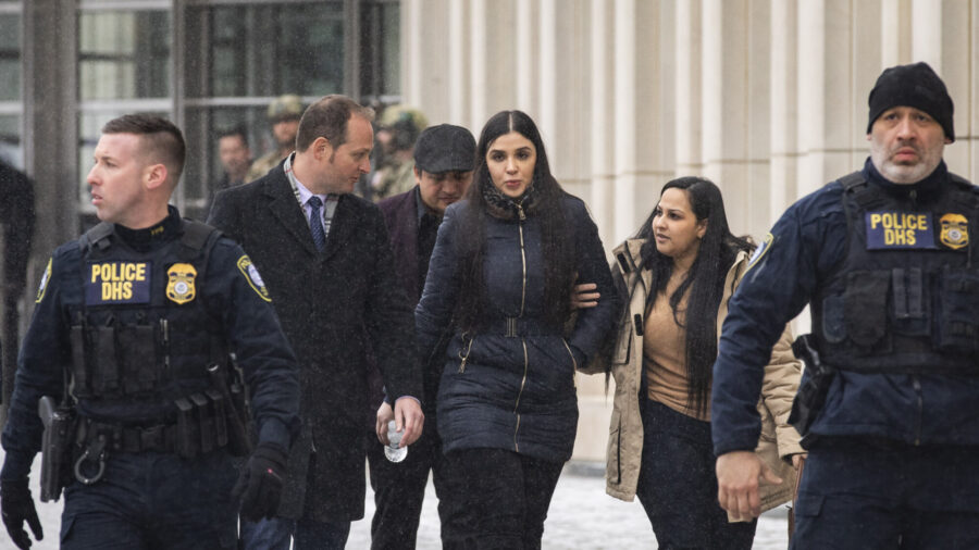 Drug Kingpin El Chapo's Wife to Plead Guilty to U.S. Charges