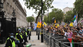 Tens of Thousands March for Freedoms in London