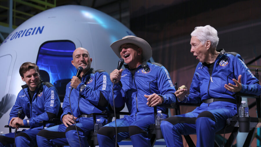 Jeff Bezos: 'We're Going to Build a Road to Space'