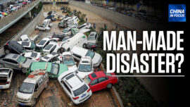 China in Focus (July 22): Cars Trapped in Tunnel Amid Floods in China