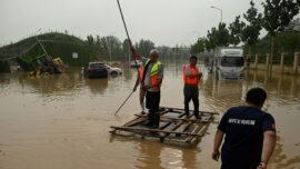 Floods in China: Family Washed Away by Mudslides
