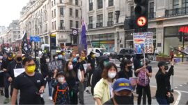 Protests in London Over Hong Kong Security Law