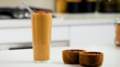 A Delicious and Healthy Chocolate Smoothie
