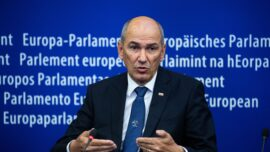 Slovenia's Prime Minister Urges EU to Stand With Lithuania Against Chinese Pressure