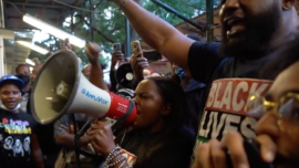BLM Protest After Guests Clash With Waitress