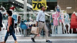 Retail Sales Post Surprise Gain, Led by Sharp Rise in Online Shopping