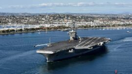 First US Navy Carrier Strike Group Carrying F-35C Stealth Fighters Enters the South China Sea