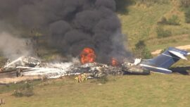 More Than 20 People Safely Escape After Plane Crashes Outside Houston